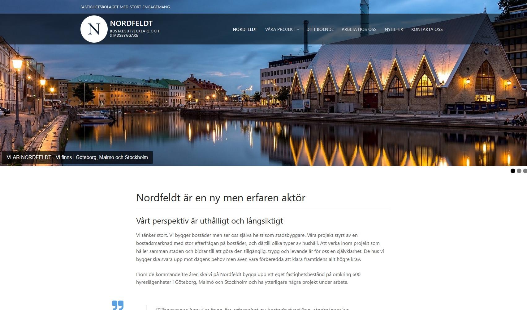 Om Nordfeldt.se