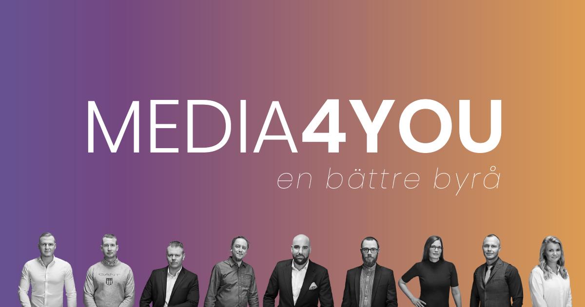 Teamet på Media4you